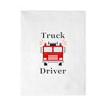 Truck Driver Twin Duvet