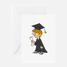Graduating Boy Greeting Cards