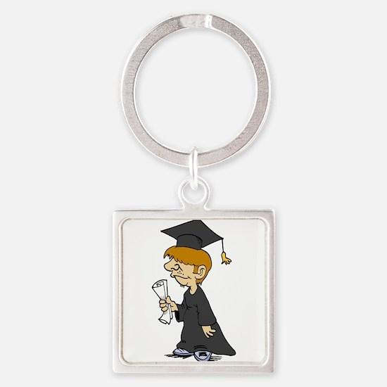 Graduating Boy Keychains