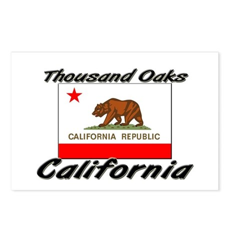 Thousand Oaks California Postcards (Package of 8)