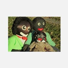 Cute Golliwog Rectangle Magnet