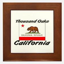 Thousand Oaks California Framed Tile