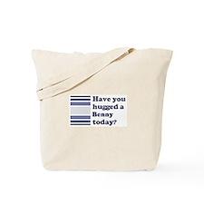 Hugged Benny Tote Bag