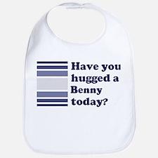 Hugged Benny Bib