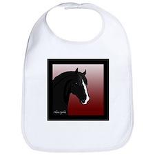 Black Horse (#6) Bib