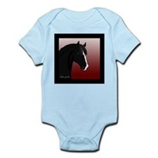 Black Horse (#6) Infant Creeper