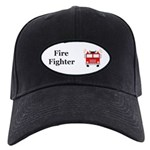 Fire Fighter Black Cap