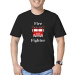 Fire Fighter Men's Fitted T-Shirt (dark)
