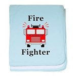 Fire Fighter baby blanket