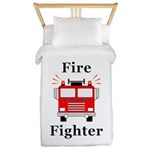 Fire Fighter Twin Duvet