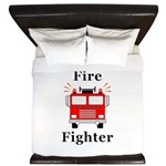 Fire Fighter King Duvet