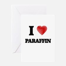 I Love Paraffin Greeting Cards