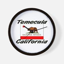 Temecula California Wall Clock