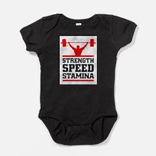 Powerlifting Baby Bodysuit