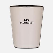 100% MORROW Shot Glass