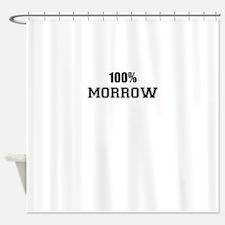100% MORROW Shower Curtain