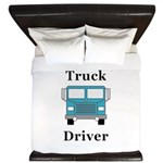 Truck Driver King Duvet
