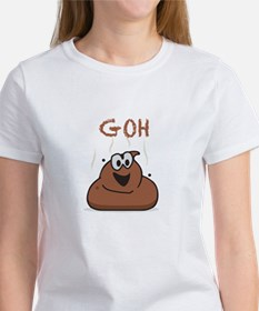 GOH Poop Women's Cap Sleeve T-Shirt