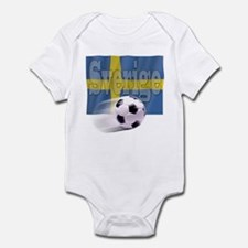 Soccer Flag Sverige Infant Bodysuit