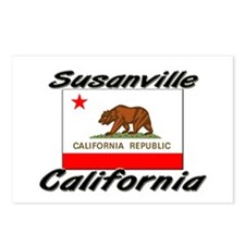 Susanville California Postcards (Package of 8)