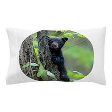 Black Bear Cub Pillow Case