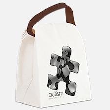 puzzle-v2-black.png Canvas Lunch Bag