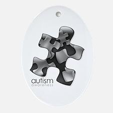 puzzle-v2-black.png Oval Ornament