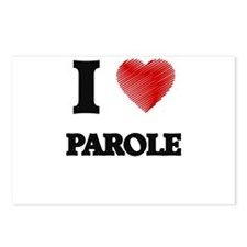 I Love Parole Postcards (Package of 8)