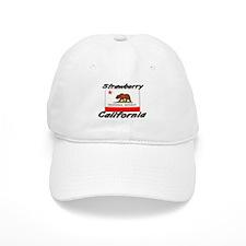 Strawberry California Baseball Cap