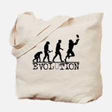 Evolution Football Tote Bag