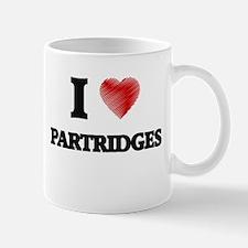 I Love Partridges Mugs