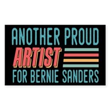 Another Proud Artist For Bernie Decal