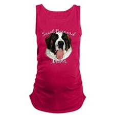 Cute Saint bernard Maternity Tank Top