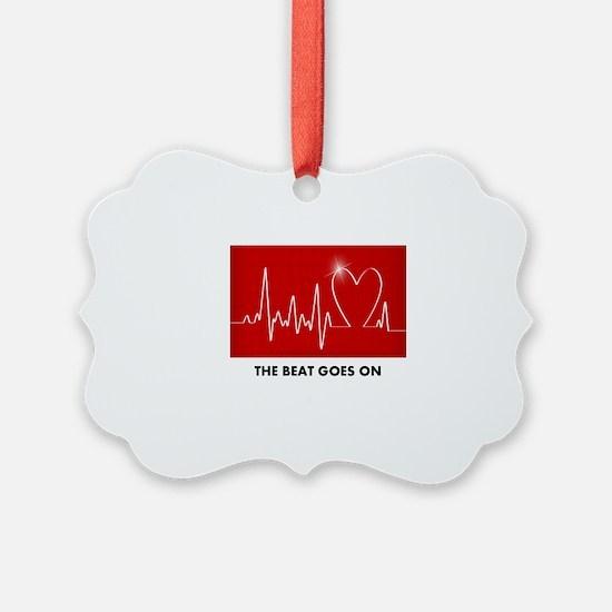 Unique Heart Ornament