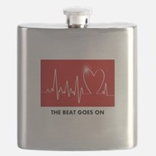 Cute Heart surgery Flask