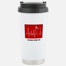 Cute Heart surgery Travel Mug