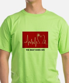 The Beat Goes On - Post Heart Attack T-Shirt