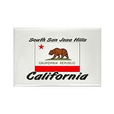 South San Jose Hills California Rectangle Magnet