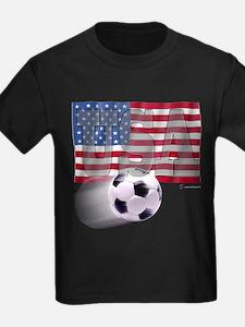 Soccer Flag USA T