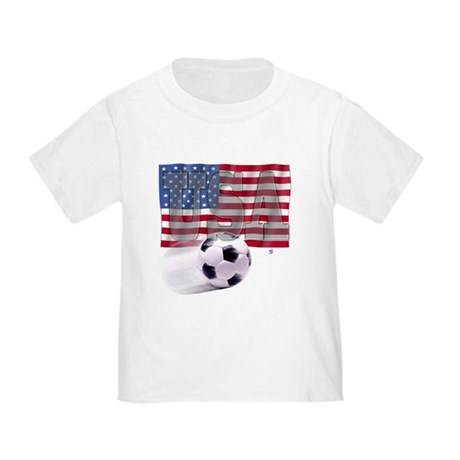 Soccer Flag USA Toddler T-Shirt