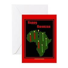 Kwanzaa Greeting Cards Pk of 10
