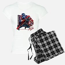 Captain America Flag Pajamas