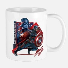 Captain America Flag Mug