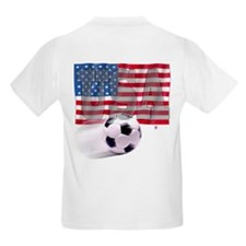 Soccer Flag USA (B) T-Shirt