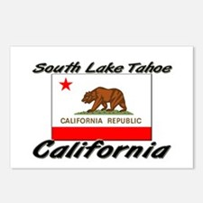 South Lake Tahoe California Postcards (Package of