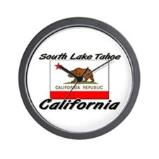 South Lake Tahoe California Wall Clock