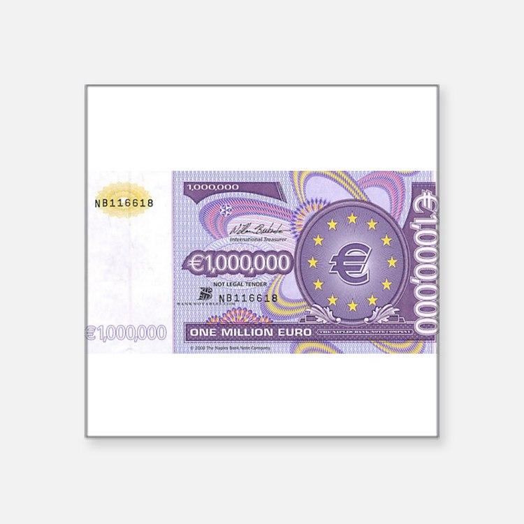 Million Euro - Money Shop Sticker