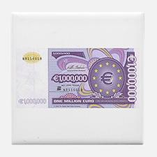 Million Euro - Money Shop Tile Coaster