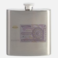 Million Euro - Money Shop Flask
