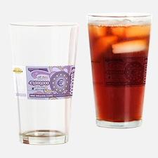 Million Euro - Money Shop Drinking Glass